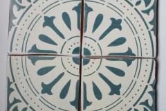 ORLEANS BIENVILLE 6X6 C1009H ALABASTER-AZUL