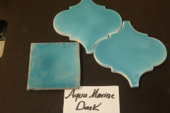 ARABESQUE : GEMSTONE AQUA MARINE DARK