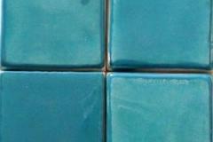 ART DECO C7 TURQUOISE BLUE