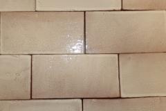 Hand Cut White Linen 3x6