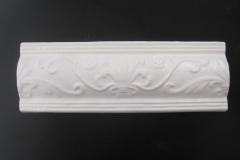 Cache Lily Concave Accent Strip 4x12 Matte White