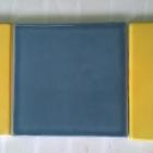 L to R Art Deco Sun Beam Yellow_Folio One Winter Storm and C10-28-8 yellow