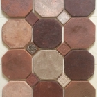 Marrakech blend 8%22 Octagon w:mixed inserts
