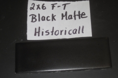 BLACK MATTE 2X6 FT HISTORICAL COLLECTION