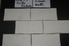 HC Creme Matte Orillas Frotadas 3x6