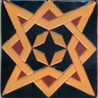 6x6 Libro Estrella Negro JQ