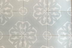 Orleans Silver: White Matte 6x6 White clay