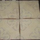 Orleans Silver Matte Orillas Frotadas 6x6