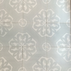 Orleans Silver: White Matte 6x6 White clay