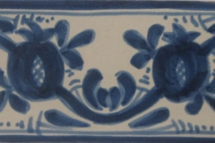 Provence 2.75 x 2.75 Vinge-Cobalt Blue
