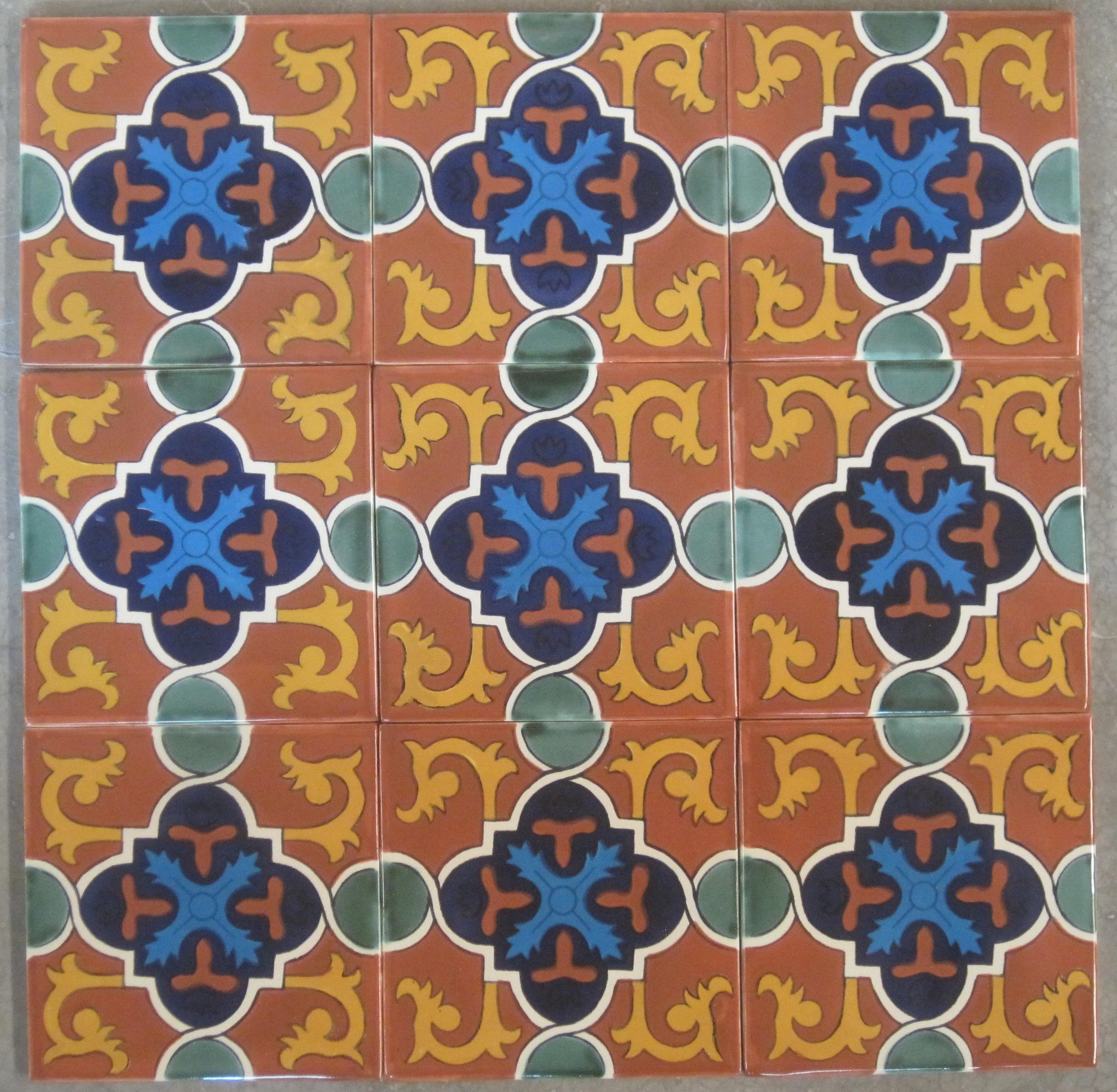Spanish Tile Handmade Ceramic Tile