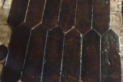 ANTIQUE WALNUT PICKET 5X16