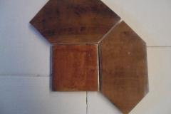 Antique Light Walnut Fat Picket 6x6 6x12 picket