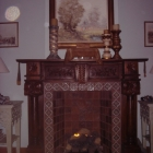 Marrakech fireplace